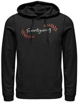 Fifth Sun Sweatshirts and Hoodies BLACK - Black & Orange 'Friendsgiving' Kangaroo-Pocket Hoodie - Adult