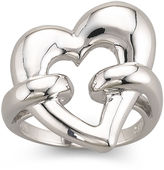 JCPenney FINE JEWELRY Sterling Silver Heart Ring