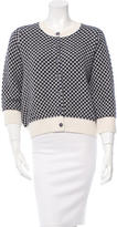 Chanel Cashmere Patterned Cardigan w/ Tags