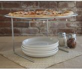 Pizzacraft wire pizza stand with pan