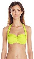 Seafolly Women's Goddess Halter Bustier Bikini Top