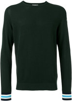 Moncler striped cuff jumper - men - Cotton - M
