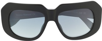 Vivienne Westwood Abstract-Frame Sunglasses