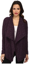 Kensie Chubby Tweed Boucle Cardigan