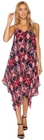Romeo & Juliet Couture Tie-Dye Midi Dress