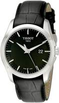 Tissot Men's T0354101605100 Couturier Dial Strap Watch