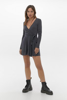 Urban Outfitters Cupro Wrap Romper