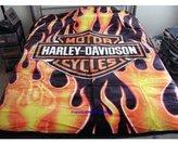 "Harley-Davidson Blanket 60""x80"""