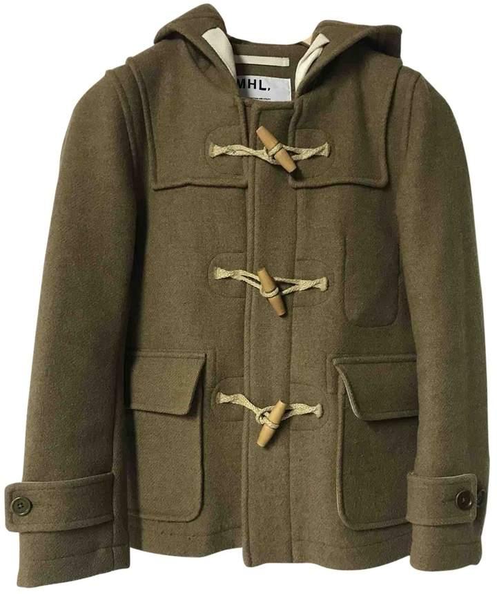 Margaret Howell \N Khaki Wool Coat for Women