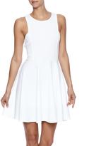 BB Dakota White Textured Dress