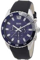 HUGO BOSS Men's 1512803 Leather Quartz Watch