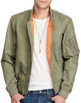 Denim & Supply Ralph Lauren Flag-Print Nylon Bomber Jacket