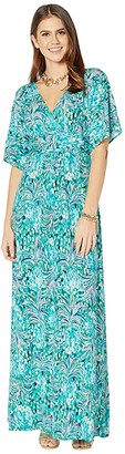 Lilly Pulitzer Parigi Maxi Dress (Emerald Isle Pineapple of My Eye) Women's Dress