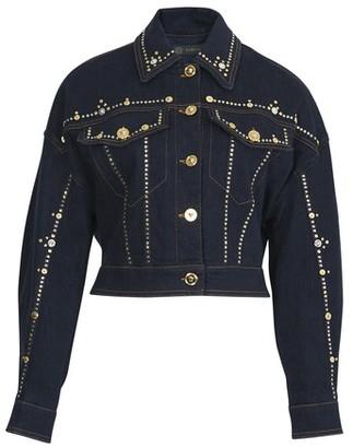 Versace Short denim jacket