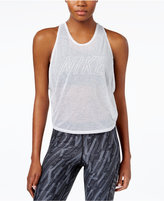 Nike Dri-FIT Breathe 2 in 1 Cropped Training Tank Top and Pro Mid-Impact Sports Bra