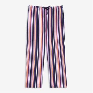 Joe Fresh Women+ Print Sleep Pants, Purple (Size 3X)