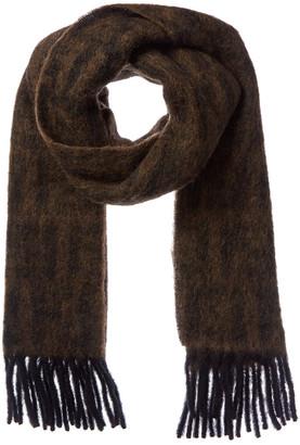 Fendi Ff Wool, Mohair, & Alpaca-Blend Scarf