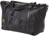 Clava Women's Pleated Ziptop Shoulder Bag