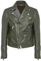 Les Hommes Zip Up Biker Jacket
