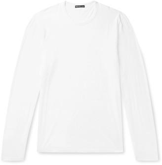 James Perse Lotus Slim-Fit Cotton-Jersey T-Shirt