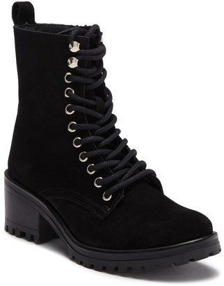 Steve Madden Gloat Lace-Up Combat Boot