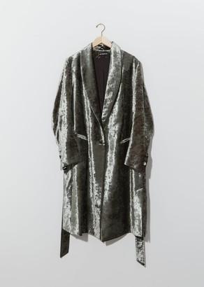Ann Demeulemeester Lucinda Velvet Coat