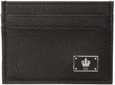 Dolce & Gabbana Black Crown Cardholder