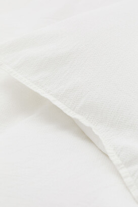 H&M Textured-weave duvet cover set