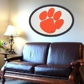 Clemson Tigers 46-inch Carved Wall Art