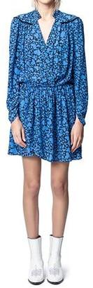 Zadig & Voltaire Reveal Print Coeur Dress