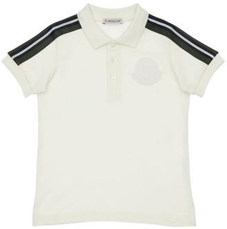 Moncler Cotton Piquet Polo