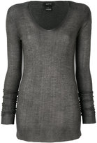 Avant Toi fitted knitted sweater
