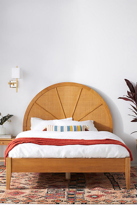 Anthropologie Wallace Cane and Oak Bed By in Beige Size Q top/bed