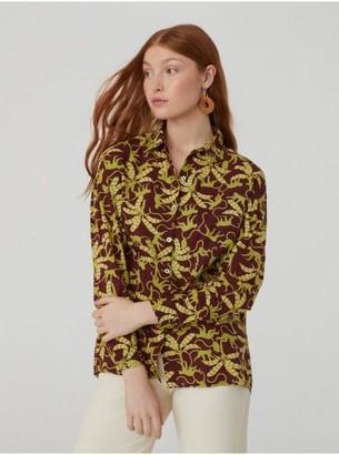 Nice Things Jungle Garden Print Shirt - 36