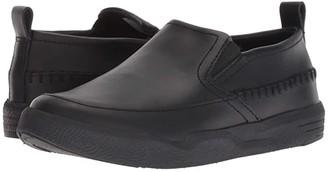 Hush Puppies Kids Lazy Genius (Little Kid/Big Kid) (Black/Black) Boy's Shoes