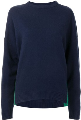 Cynthia Rowley Two-Tone Cashmere-Blend Jumper
