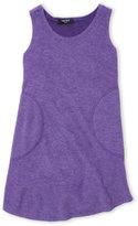 Zara Terez Girls 4-6x) Terry Cloth Tank Dress