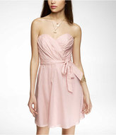 Express Strapless Voile Dress