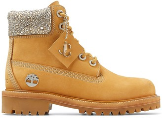 Jimmy Choo x Timberland sequin-embellished boots