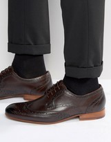Ted Baker Gryene Derby Brogue Shoes