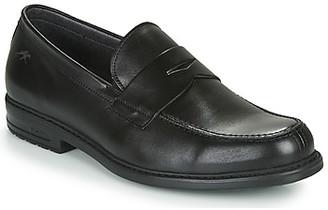 Fluchos SIMON men's Loafers / Casual Shoes in Black