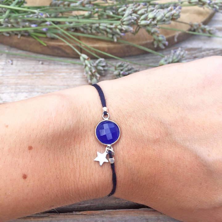 dc9fd6d4a14ce Ashiana London Chalcedony Star Charm Friendship Bracelet