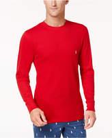 Polo Ralph Lauren Men's Lightweight Waffle-Knit Pajama Shirt