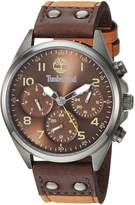 Timberland Men's TBL14859JSU12 WOLCOTT Analog Display Analog Quartz Watch