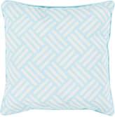 Surya Basketweave Outdoor Throw Pillow