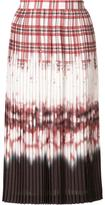 Altuzarra tie dye pleated skirt