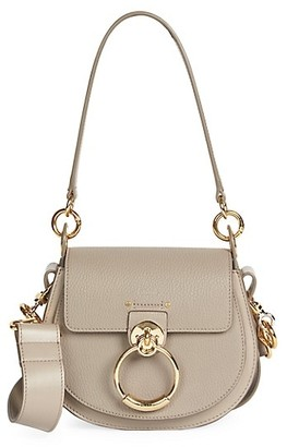 Chloé Small Tess Leather Saddle Bag