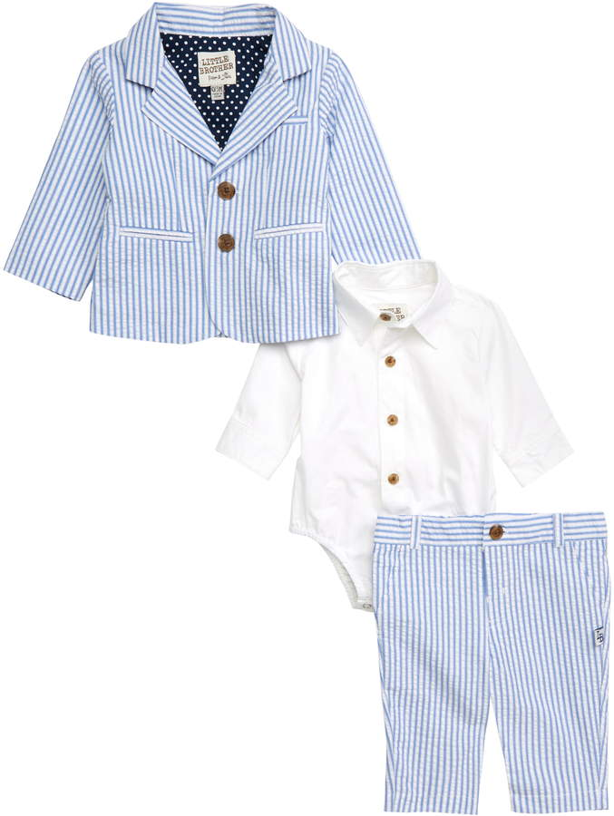 1074b4f12 Boys Seersucker Shirt - ShopStyle