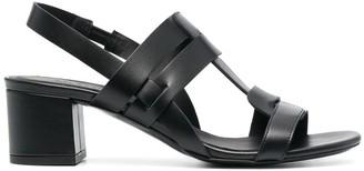 Del Carlo Interwoven Straps Sandals