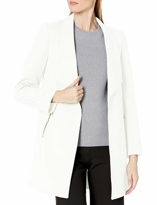 Tahari ASL Women's Open Zipper Pocket Topper